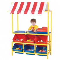 Pretend and Play Market Stall Large